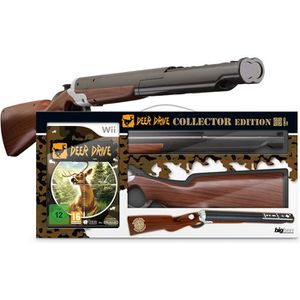 JEUX WII PACK DEER DRIVE + FUSIL COLLECTOR / Jeu console Wi