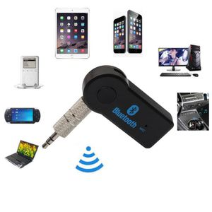 Wireless Bluetooth 3.5mm AUX Audio Stereo Music Car Receiver Adapter
