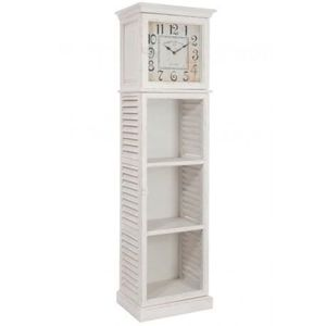 vaisselier bois blanc achat vente vaisselier bois blanc pas cher cdiscount. Black Bedroom Furniture Sets. Home Design Ideas