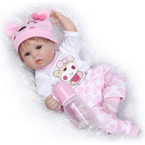 POUPÉE ZIYIUI Réaliste Reborn Bébé Poupée Fille 18 Pouces