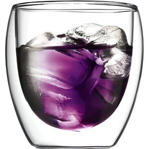 Verre à vin Verres double paroi Bodum Pavina 25cl
