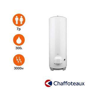 CHAUFFE-EAU Chauffe-eau stéatite 300l Ø 570 mm stable triphasé