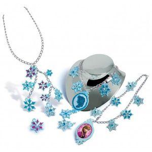 CRÉATION DE BIJOUX set de création bijoux reine des neiges