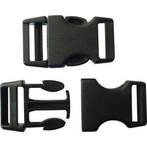 APPRÊTS  10 fermoirs clips plastique (idéal Créacord) 4cm -