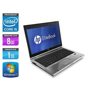 ORDINATEUR PORTABLE Pc portable HP EliteBook 2560P - i5 - 8 Go - 1 To