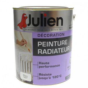 PEINTURE AUTO Peinture radiateur glycero Julien Blanc Mat 2L5 2,