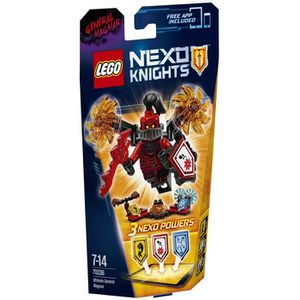 ASSEMBLAGE CONSTRUCTION LEGO® Nexo Knights 70338 L'Ultime Général Magmar