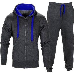 Ensemble de vêtements Hommes Pantalons extensibles Manteau à capuche Ves