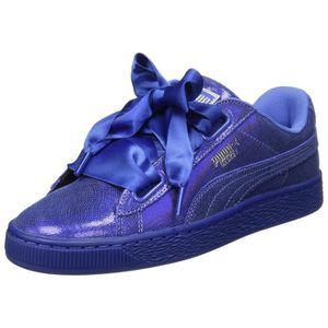 9ee6c44a67c6f PUMA Women s Basket Heart Ns Wn S Baja Blue Sneakers-6 Ukindia (39 Eu