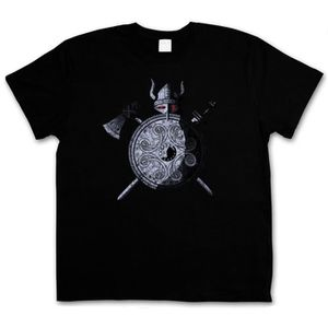 T-SHIRT guerrier viking t - shirt triskel celtique thor -