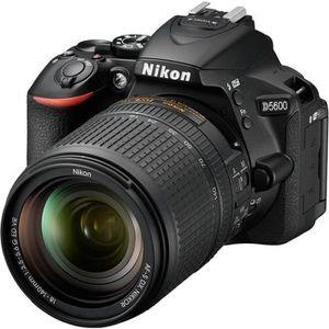 APPAREIL PHOTO RÉFLEX Nikon D5600 - Appareil photo numérique - Reflex -