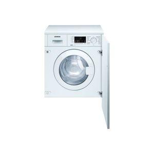 LAVE-LINGE Siemens iQ100 WI12A222ES Machine à laver intégré h