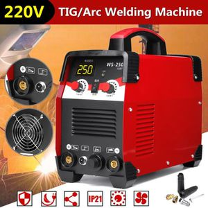 FER - POSTE A SOUDER WS-250 2 EN 1 TIG/Arc Poste à Souder 220V 7700W IG