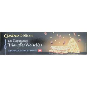 BISCUITS SECS CASINO DELICES Triangles noisettes - 100g