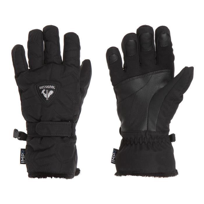 ROSSIGNOL Gants de ski SAPHIR IMPR GT - Femme - Noir