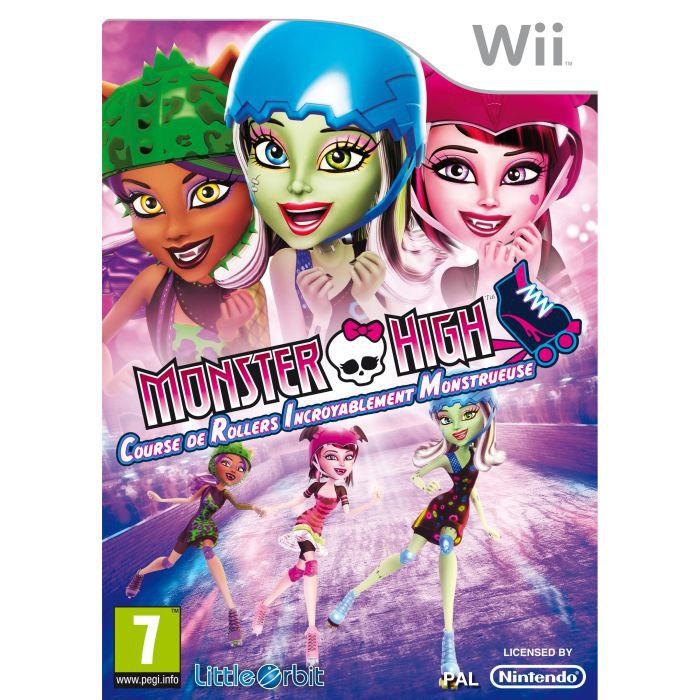 monster high skultimate roller maze wii achat vente jeux wii monster high skultimate. Black Bedroom Furniture Sets. Home Design Ideas