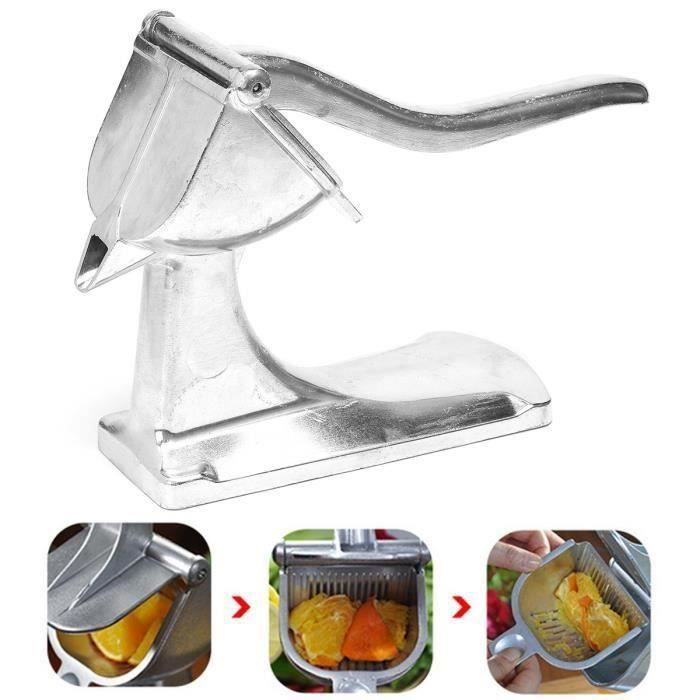 pressoir Aluminium Citron Robuste Agrume Orange Fruit Centrifugeuse Cuisine Outil