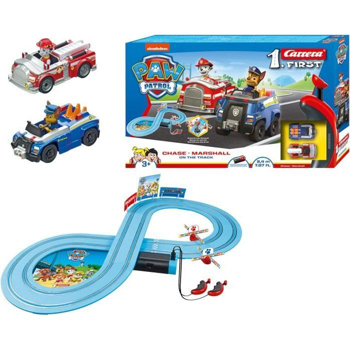 Carrera First PAW PATROL - On the Track - 2,4m