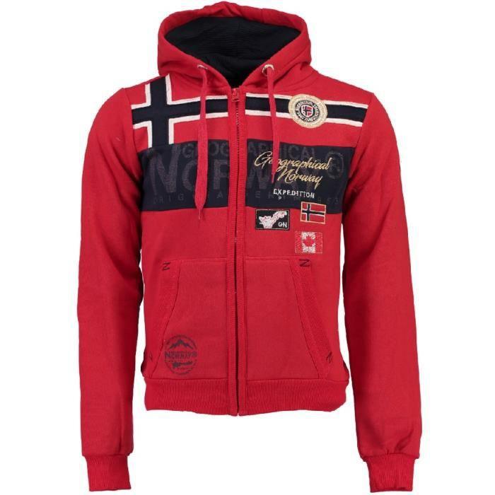 Geographical Norway GARADOCK MEN 100 Felpa con cap