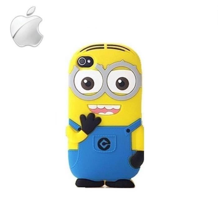 coque iphone 5 5s 5c minions mignons