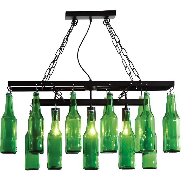 suspension beer bottles kare design achat vente suspension beer bottles kare design verre. Black Bedroom Furniture Sets. Home Design Ideas