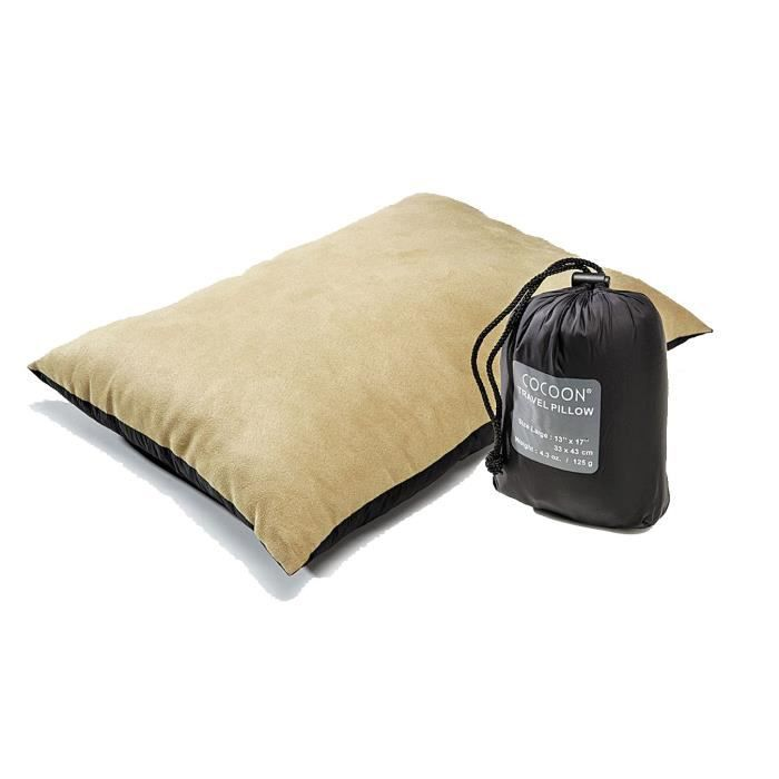 Cocoon Air-Core Pillow large kaki charbon