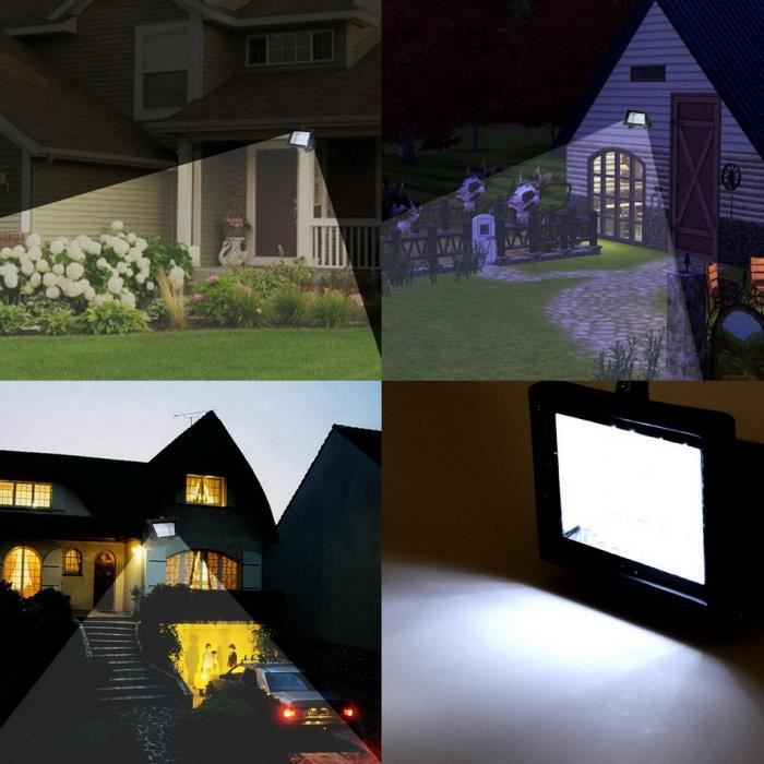 led lampe solaire tanche ext rieur lumi re pour jardin route achat vente led lampe solaire. Black Bedroom Furniture Sets. Home Design Ideas
