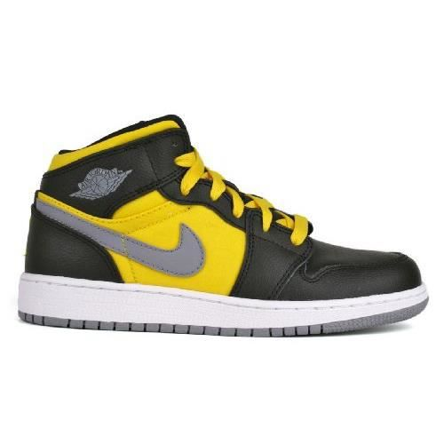 BASKET Nike AIR JORDAN 1 PHAT (GS) - Jaune