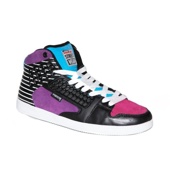 samples shoes VISION STREET WEAR EL CENTRO MULTI STRIPES MEN