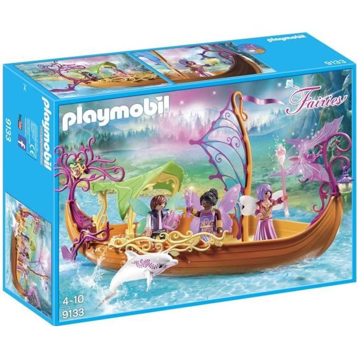 Playmobil 9137 Fairies Enchanted Fée avec cheval Playset