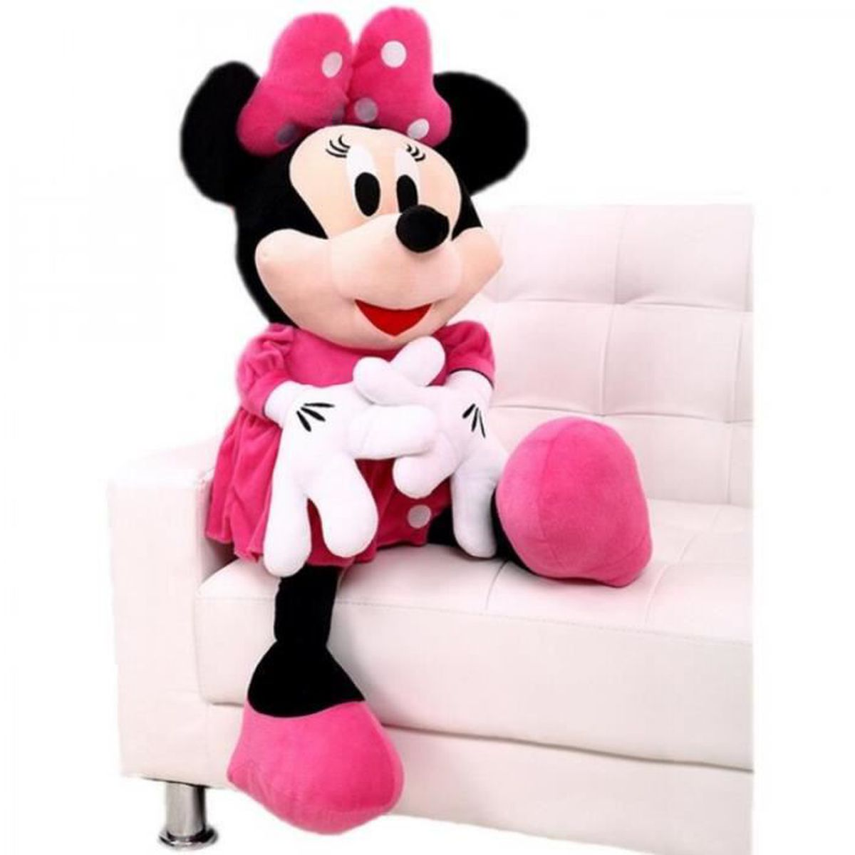 grande peluche mickey achat vente jeux et jouets pas chers. Black Bedroom Furniture Sets. Home Design Ideas