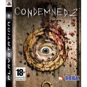 JEU PS3 CONDEMNED 2 / jeu console PS3