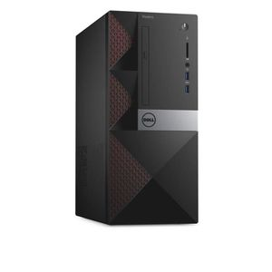 Dell Vostro 3668 - MT -PC de bureau-RAM 4 GO- 1 x Core i3 7100 / 3.9 GHz - RAM 4 Go-HDD 500 Go-HD Graphics 630