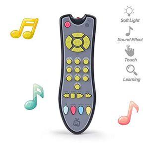 JEU D'APPRENTISSAGE Mecanique UI6GX TV musicale Télécommande Toy avec