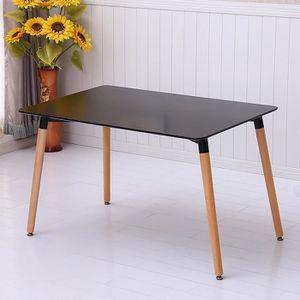 TABLE À MANGER COMPLÈTE Ensemble Table de Salle à Manger Grain de bois Des