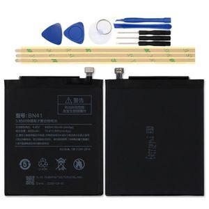 Batterie téléphone Mcdark 4000mAh BN41 Batterie Pour Xiaomi Redmi Not