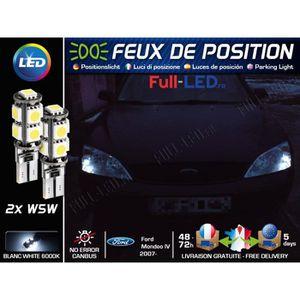 """DEL DRL Brouillard Feux De Blanc 26 cm 10/"""" pour Ford Fiesta Mondeo Focus Ka"""