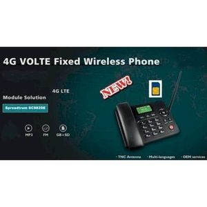 Téléphone fixe 4G Hotspot WiFi Bluetooth Téléphone GSM sans Fil p