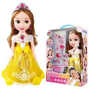 POUPÉE Barbie Intelligent Parler Chanter Danser Princesse