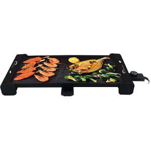 PLANCHA DE TABLE Plancha gril électrique 2100w 51.5x30cm - 8233 - L