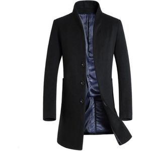 MANTEAU - CABAN Manteau homme en laine de nouvelle collection d...