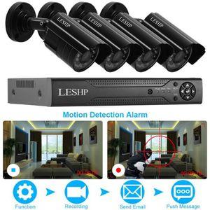 CAMÉRA DE SURVEILLANCE Kit Vidéo Surveillance 4CH 720P DVR / HVR / NVR 3