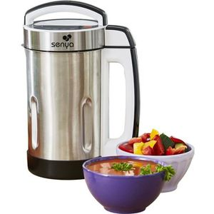 BLENDER Senya blender chauffant Inox 1.6L - mixeur à soupe
