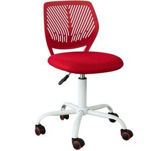 CHAISE DE BUREAU SoBuy® FST64-R Chaise de Bureau Ergonomique Fauteu