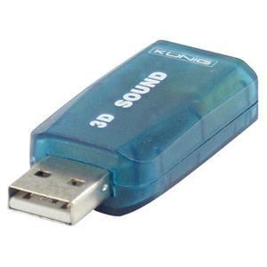 CARTE SON EXTERNE VSHOP® Adaptateur USB Audio Carte son 3D 5.1 usb