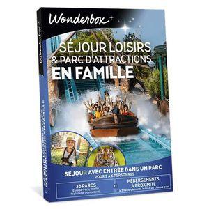 COFFRET SÉJOUR Wonderbox - Coffret cadeau noel en famille - Séjou