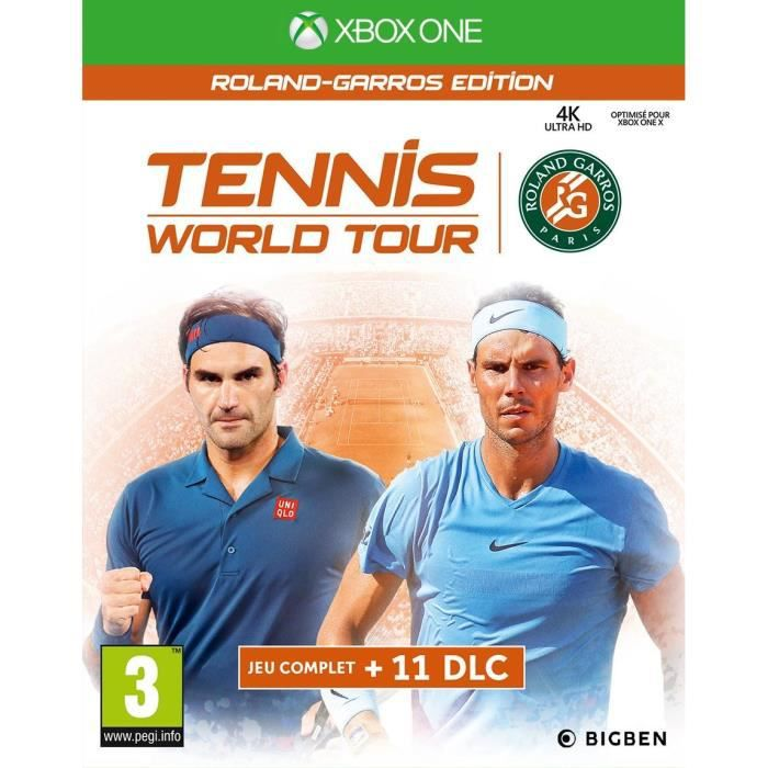 Tennis World Tour Roland Garros Jeu Xbox One