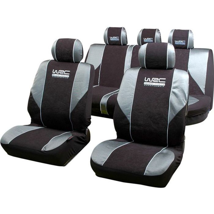 wrc set de housses universelles rallye achat vente housse de si ge wrc set de housses rallye. Black Bedroom Furniture Sets. Home Design Ideas