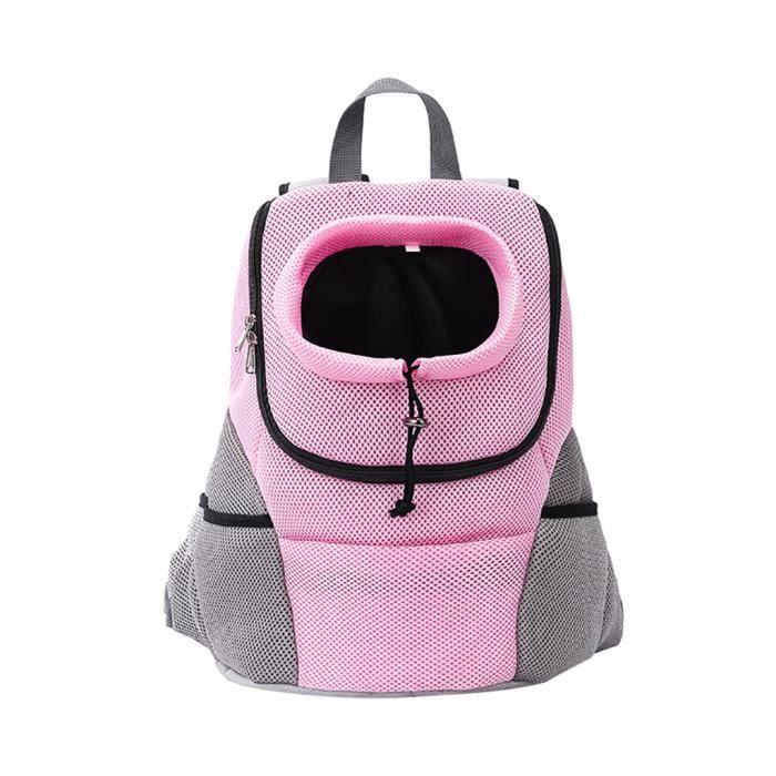 Sac à dos pour animaux de compagnie Sac à dos à bandoulière Sac à dos pour chat Sac de transport pour chien sûr et confortable