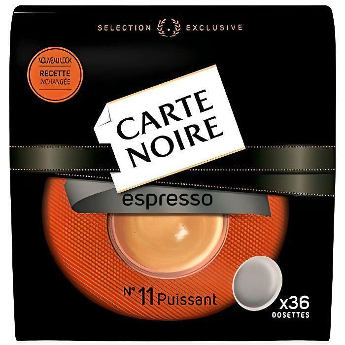 CARTE NOIRE Dosettes Espresso Puissant N°11 x36 - 250 g